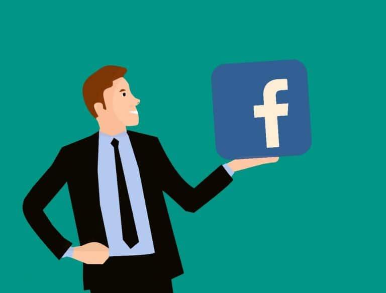 Unternehmer Facebook-Seite